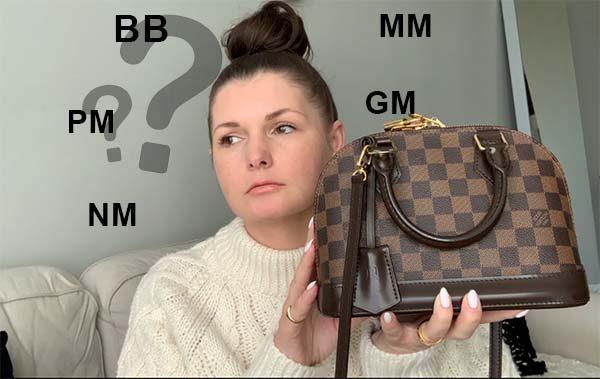 Định nghĩa ký tự viết tắt BB, PM, MM, GM, NM của Louis Vuitton