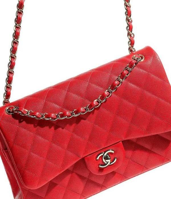 Túi Chanel Classic màu đỏ