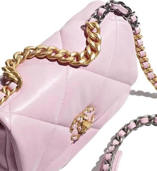 Túi Chanel 19 màu hồng