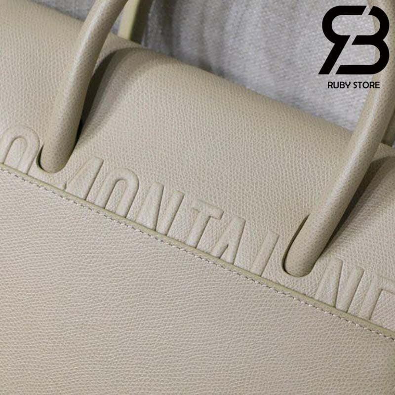Túi Medium Dior St Honoré Tote Vàng Latte 25cm Best Quality 99% Auth