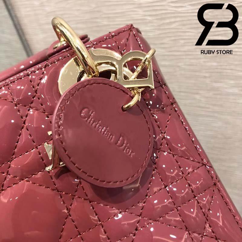 Túi Lady Dior Violet Pink 17cm Best Quality 99% Auth