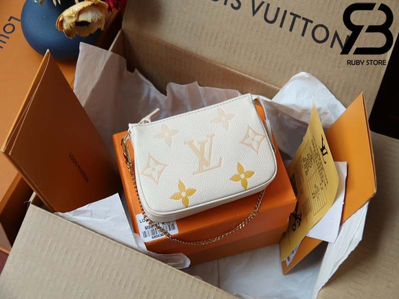 Túi LV Mini Pochette Accessoires Py The Pool Kem Best Quality 99% Auth