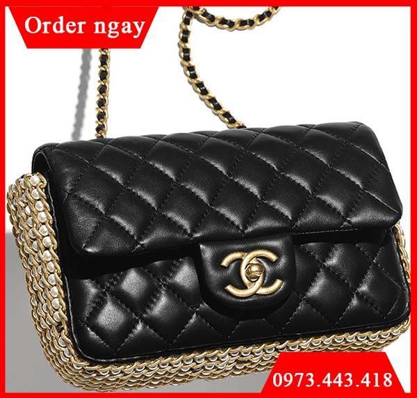 Túi Chanel Side Pearl Classic