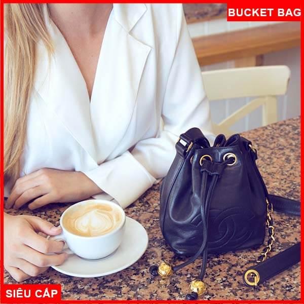 Chanel Mini Timeless Bucket Bag